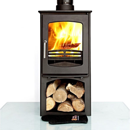 Ottawa Curve 10 KW with Log Stand
