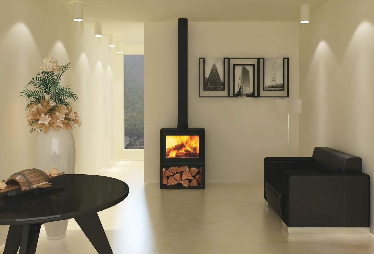 Canature Taurus Si Freestanding Fireplace Cape Town